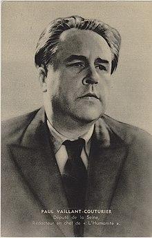 220px paul vaillant couturier carte photographique 1938