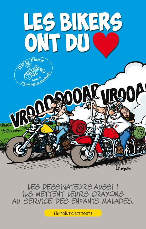 Les Bikers ont du coeur