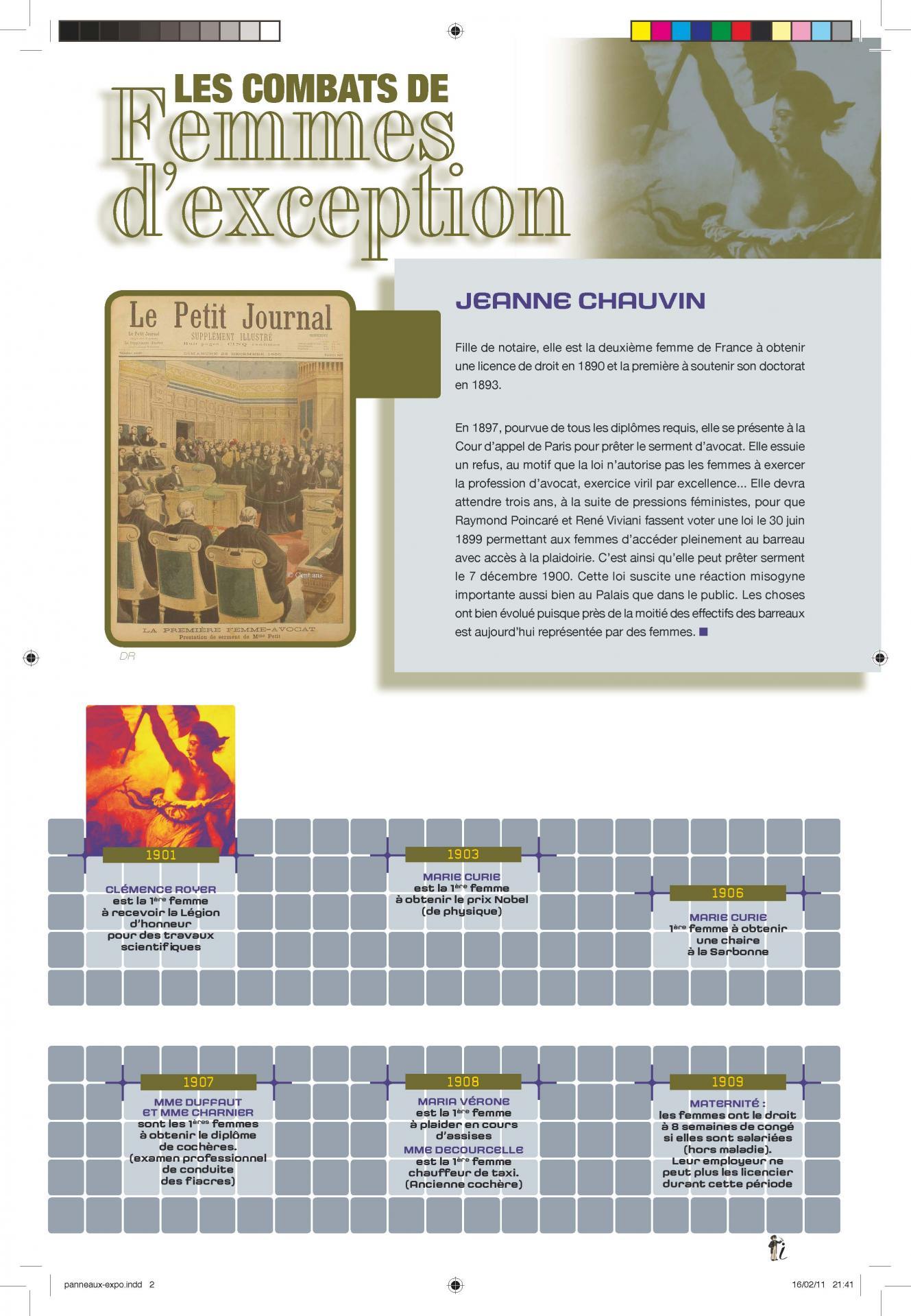 Expo combat de femme 80x120 page 02