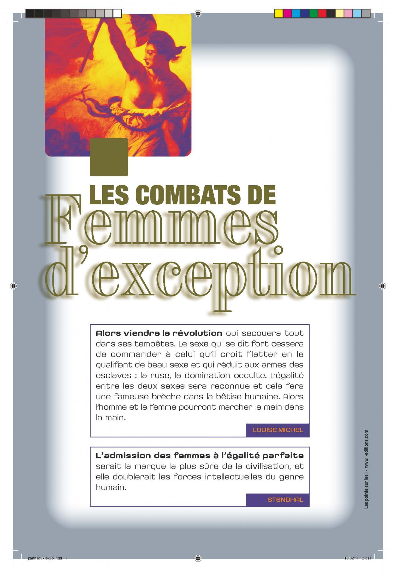 Expo combat de femme 80x120 page 01