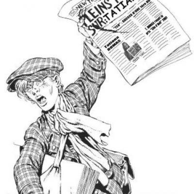 Vendeur journaux 448